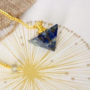 Pendule Lapis Lazuli Pyramide