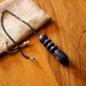 Pendule Egyptien Lapis Lazuli