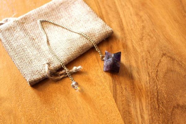 pendule divinatoire améthyste