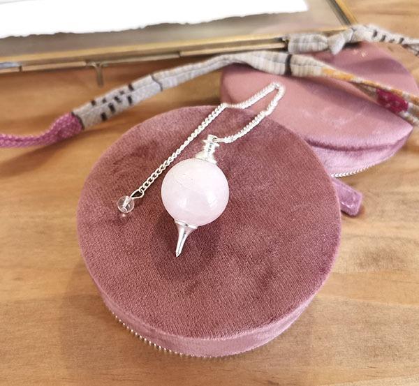 pendule-divinatoire-quartz-rose-sephoroton