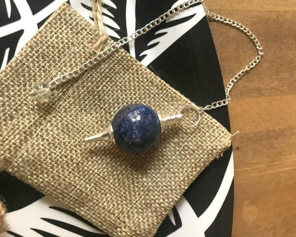 pendule lapis lazuli séphoroton