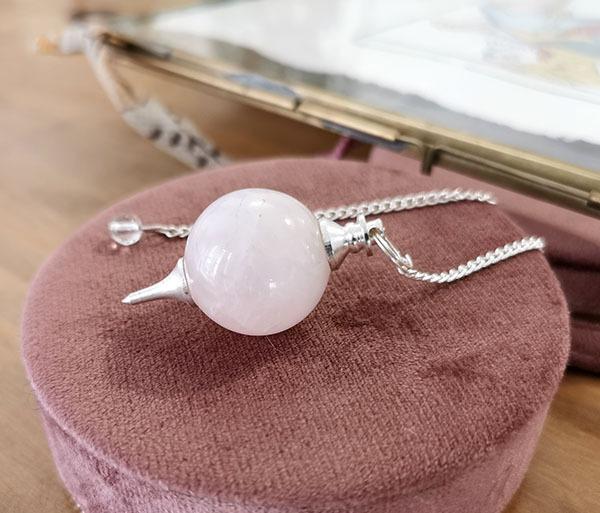 pendule-radiesthesie-quartz-rose-sephoroton