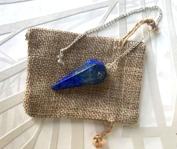 radiesthésie lapis lazuli pendule