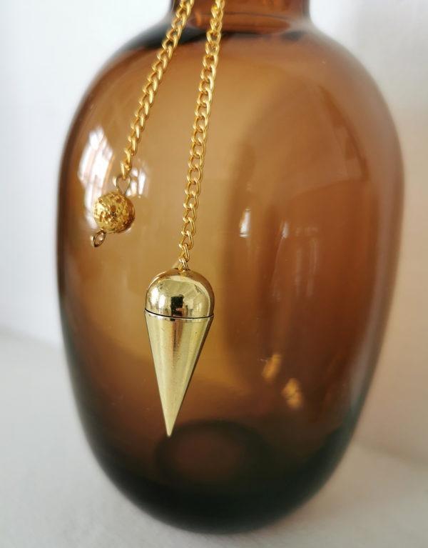 pendule-cone-médium-témoin