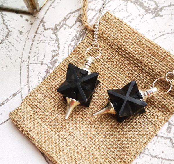 pendule-divinatoire-obsidienne-merkaba